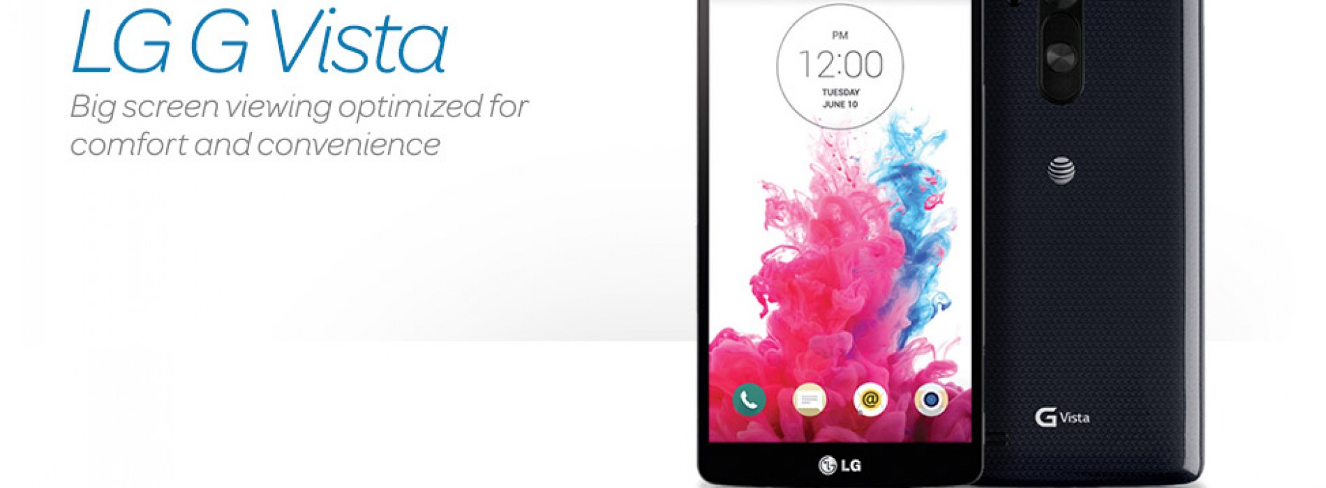 AT&T announces LG G Vista for August 22