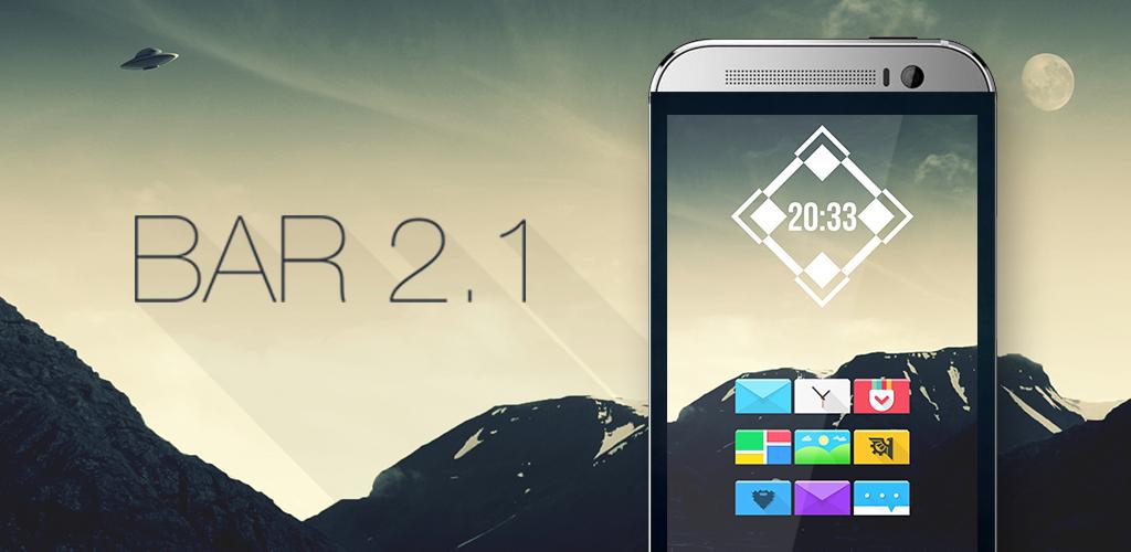 Bar 2.1 Icon Banner