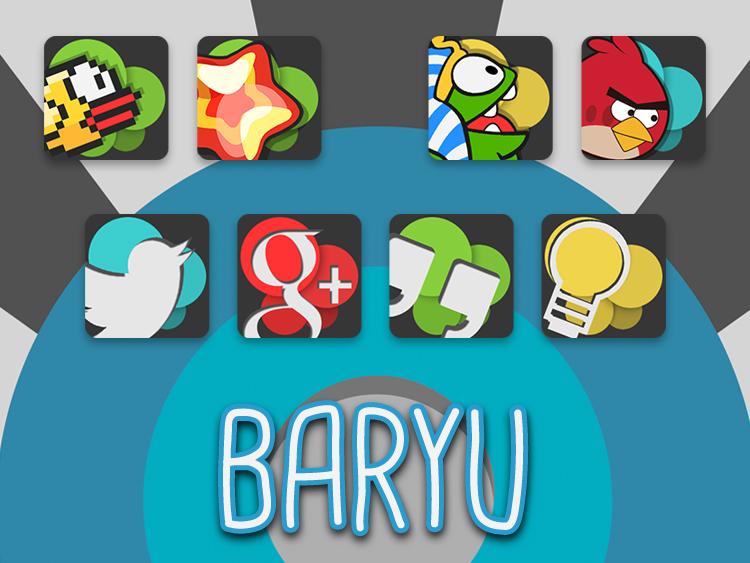 Baryu Icon Banner