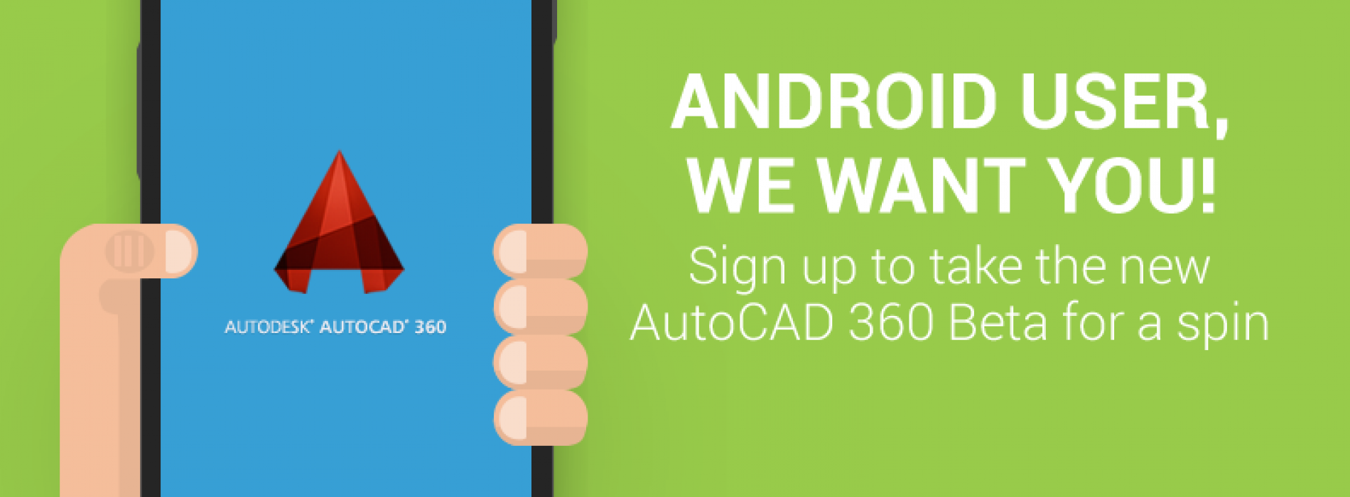 Beta testers wanted for AutoCAD 360