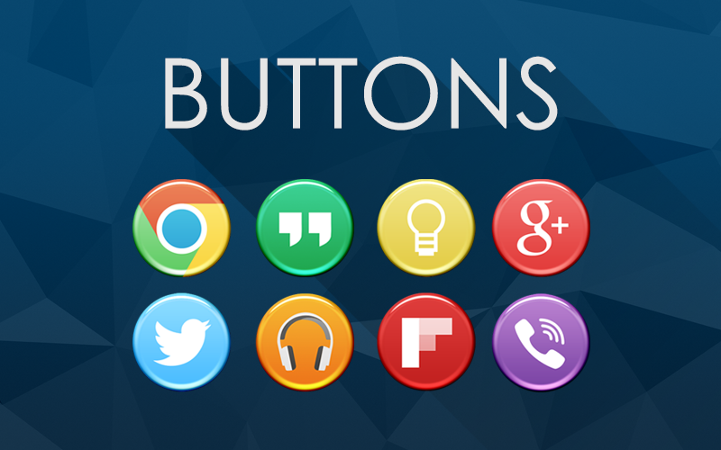 Buttons Icon Banner