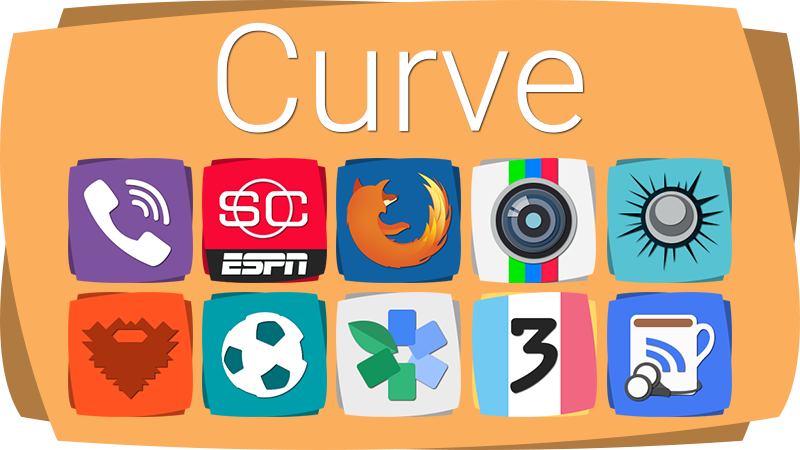Curve Icon Banner