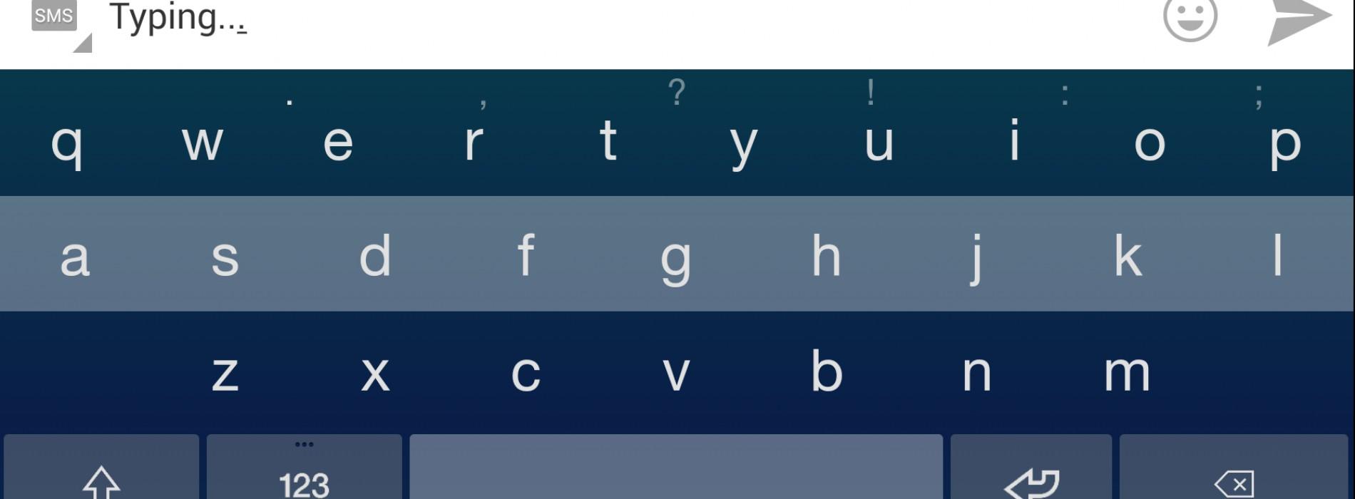 Fleksy Keyboard review