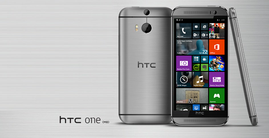 Htc One m8 Windows Phone t Mobile Htc One m8 With Windows