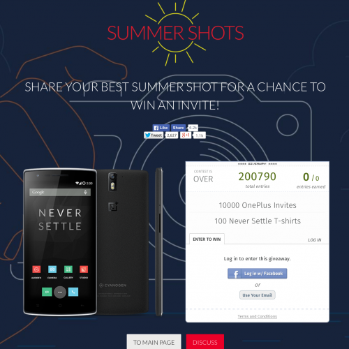 OnePlus launch another invite giveaway
