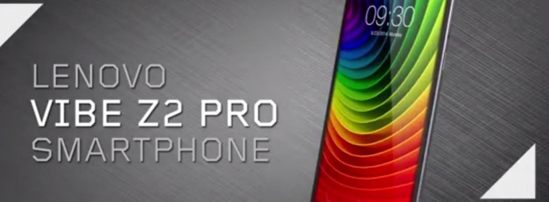 Lenovo Unveils the Vibe Z2 Pro Smartphone