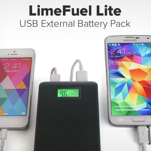 Accessory of the Day: Limefuel Lite 15000mAh USB Battery Pack $34.99