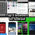 top 5 browsers (mid-2014)