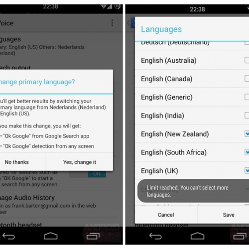 Google Search now listens for multiple languages simultaneously