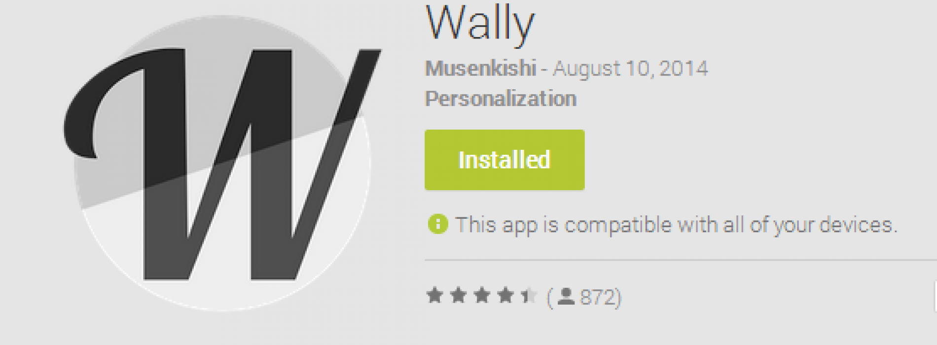 Wally: Wallpaper app with Material Design [App of the Day]