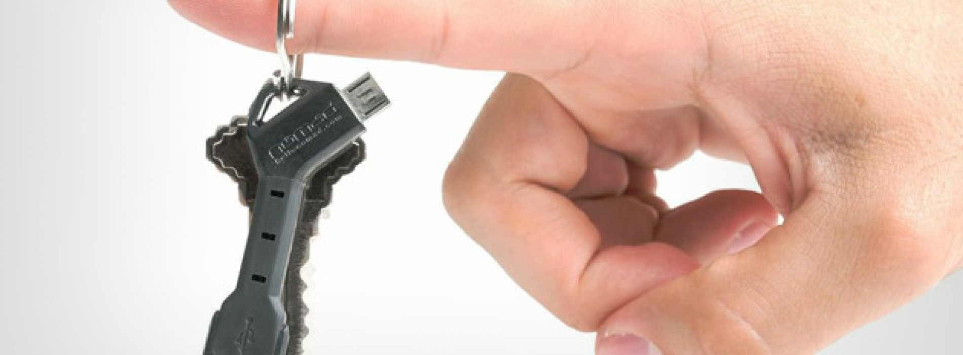 ChargeKey: Carry a USB cable on your keychain for charging anywhere [Deal of the Day]