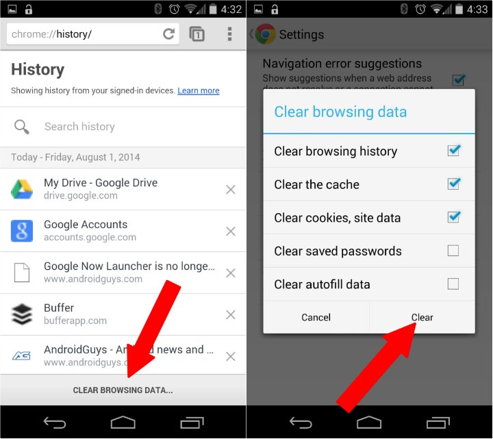 how to clear google search history on android [2018] - YouTube