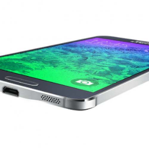 Samsung ushers in new design language with Galaxy Alpha