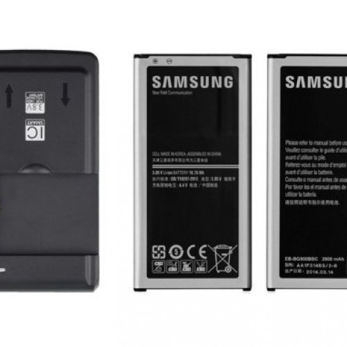 Accessory of the Day: Samsung Galaxy S5 replacement battery and wall charger combo