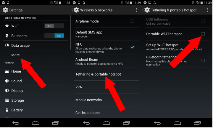 how to use your android as a portable hotspot android 201
