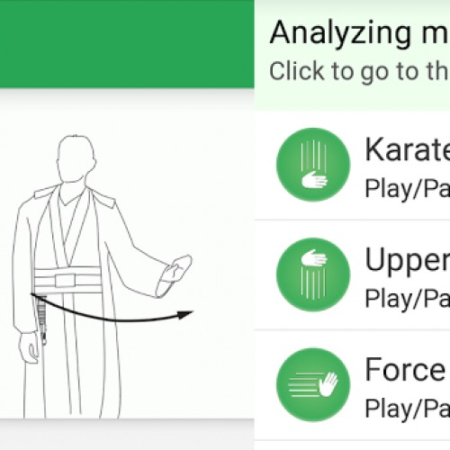 Kiwi: Using the Force and uppercuts to control your phone ['Watch' This App]