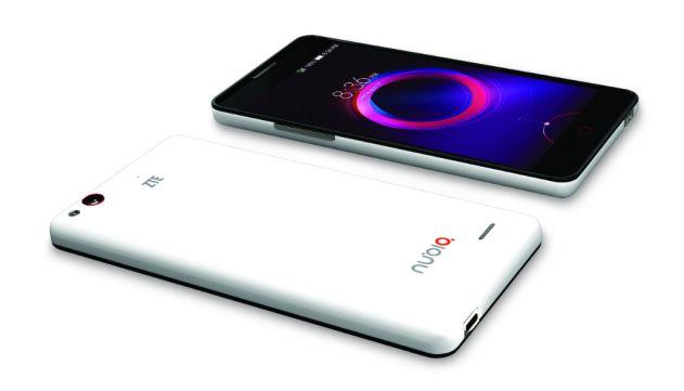 nubia 5s mini LTE front back angle