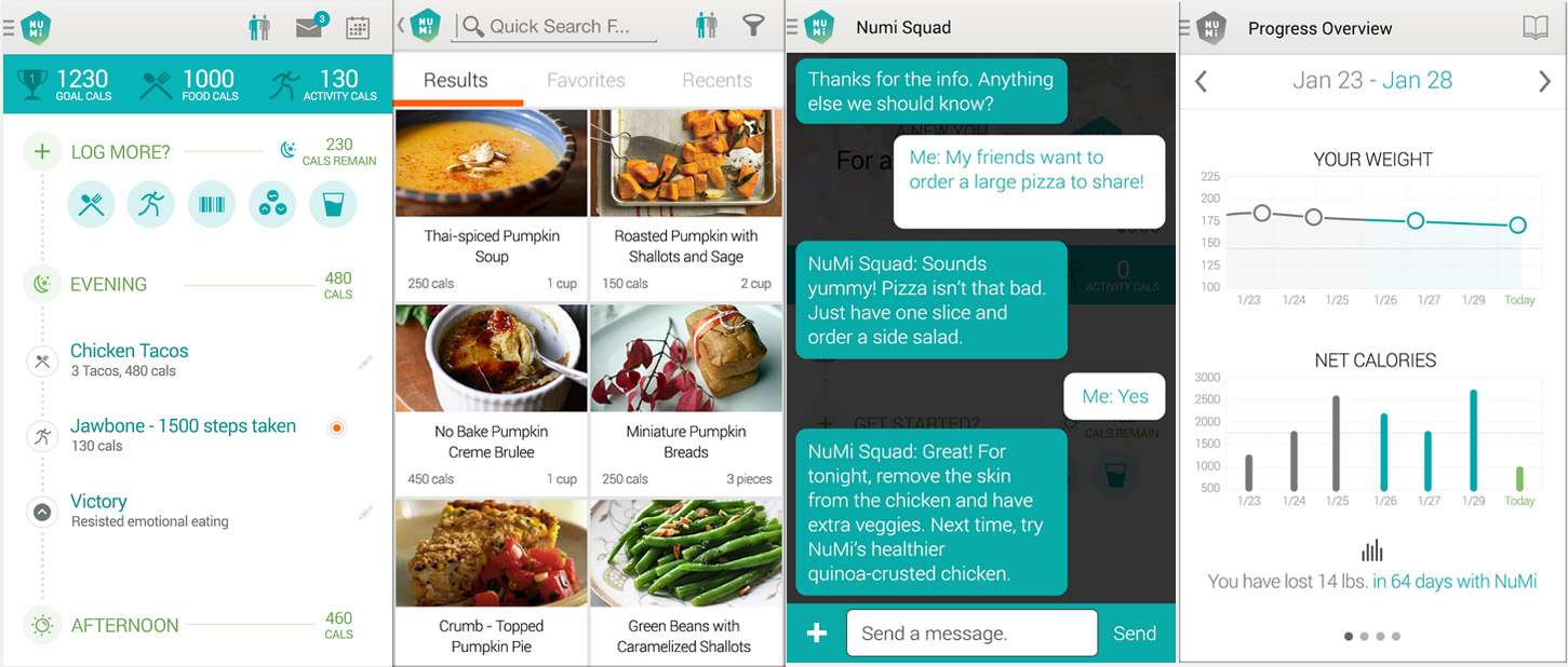 Nutrisystem updates its numi app a diy digital weight loss system solutioingenieria Image collections