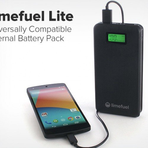 Limefuel Lite USB Battery Pack: Charge 2 devices at once with this 15000mAh portable solution [Deal of the Day]