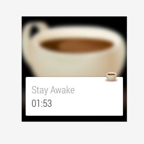 Watch This App: Wear – Stay Awake