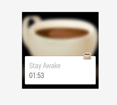 stay wake