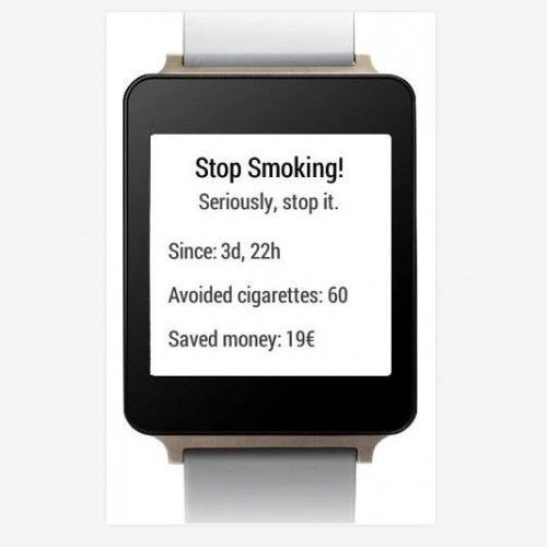 Watch This App: Wear – Stop Smoking! for Wear