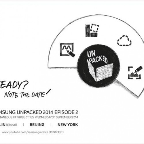 Note the Date: Samsung schedules Unpacked event for September 3