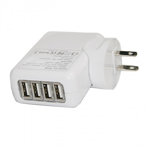 Accessory of the Day: 4-port wall to USB travel charger $8.89
