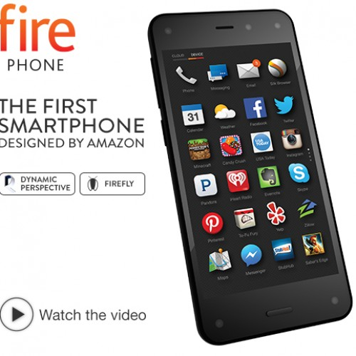 Unlocked Amazon Fire phone now $189 dollars