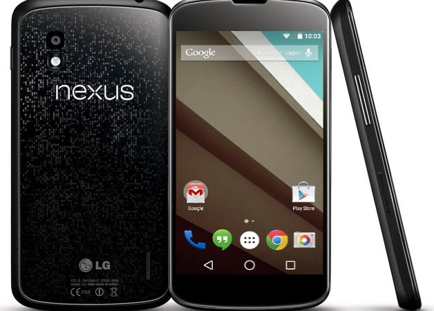 Render of Nexus 4 running Android L