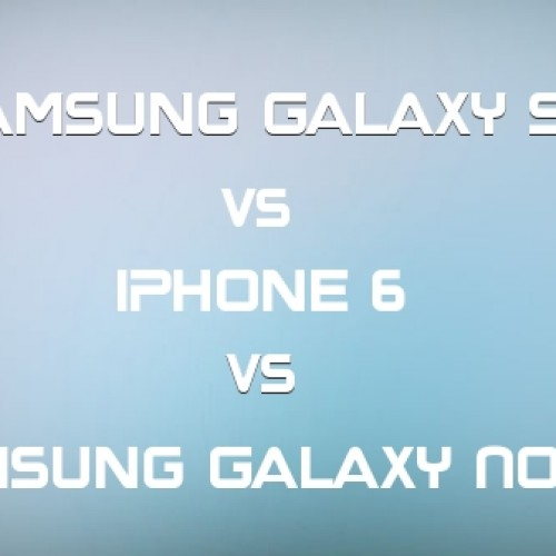 Samsung Galaxy S5 vs iPhone 6 vs Samsung Galaxy Note 4