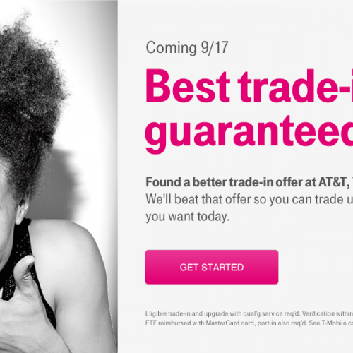 T-Mobile: We have the best trade-in prices around, guaranteed
