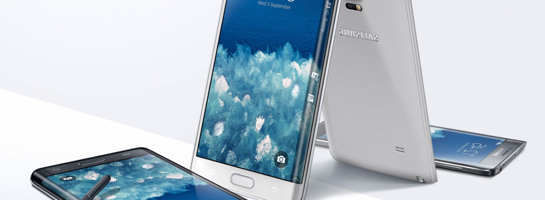 Samsung announces Galaxy Note 4, Note Edge, and Gear VR
