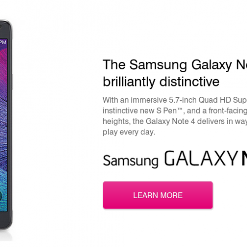 T-Mobile: pre-orders for Samsung Galaxy Note 4 on September 24