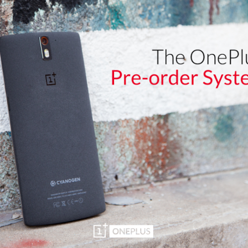 OnePlus is opening pre-orders for the One for a limited time