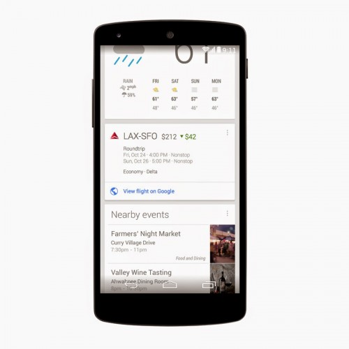 Google Now adds discounted flight notifications
