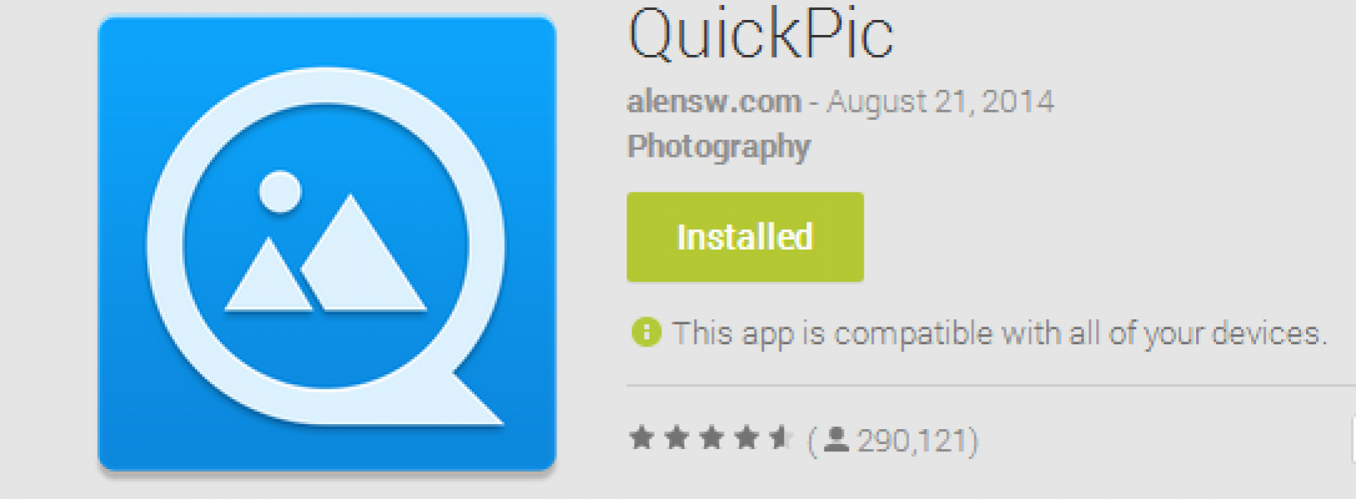 View photos with ease: QuickPic [App of the Day]