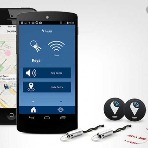 StickR TrackR 2 Pack: Coin-sized attachment to GPS track anything $29.95 [Deal of the Day]