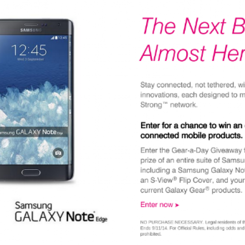 T-Mobile taking pre-registration for Galaxy Note 4, Note Edge