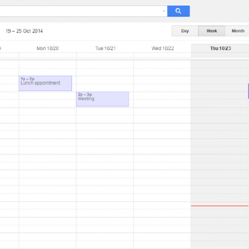 Google Calendar update brings time-saving improvments
