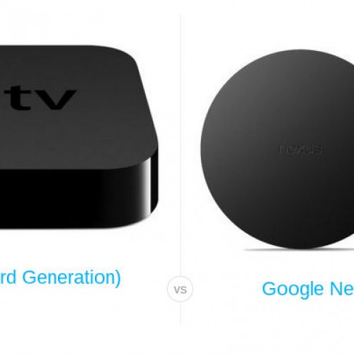 Nexus Player vs Apple TV : The battle for your TV