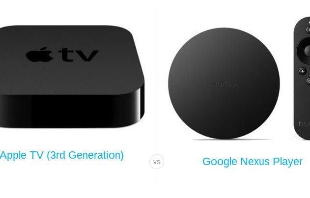 Nexus Player vs Apple TV