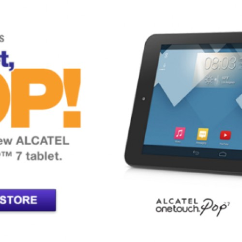 MetroPCS launches Alcatel OneTouch Pop 7 as carrier's first tablet