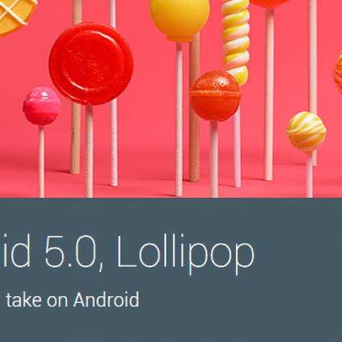 Android 5.0 will be made available to the public on November 3