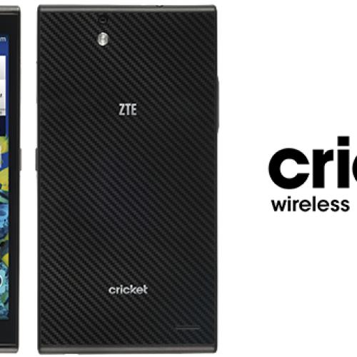 Cricket calls up $200 ZTE Grand X Max for October 10