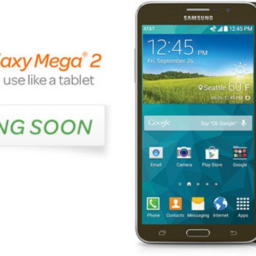 AT&T calls up Samsung Galaxy Mega 2 for October 24