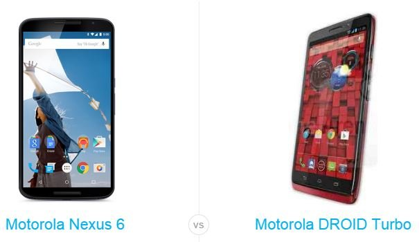 nexus 6 vs droid turbo