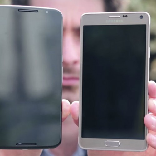 Video of Nexus 6 compared to Note 4 appears