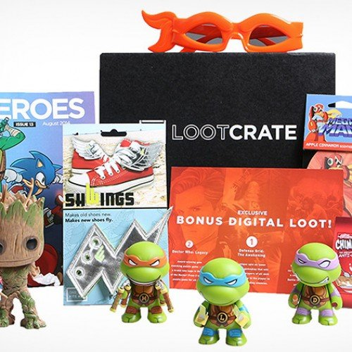 Loot Crate: 3 months of gamer and comic swag for just $47.99 [Deal of the Day]