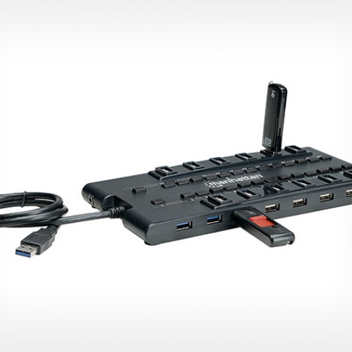 MondoHub: 28 USB ports in one compact hub, $59.99 [Deal of the Day]